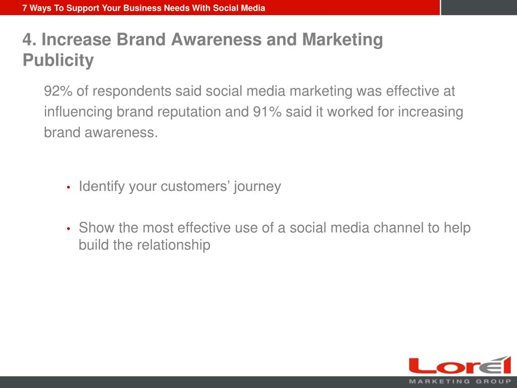 4. Increase Brand Awareness and Marketing Publicity