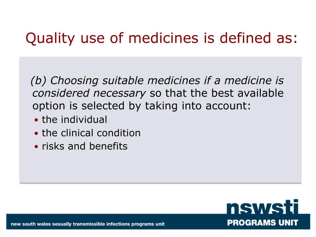 Quality use of medicines is defined as: