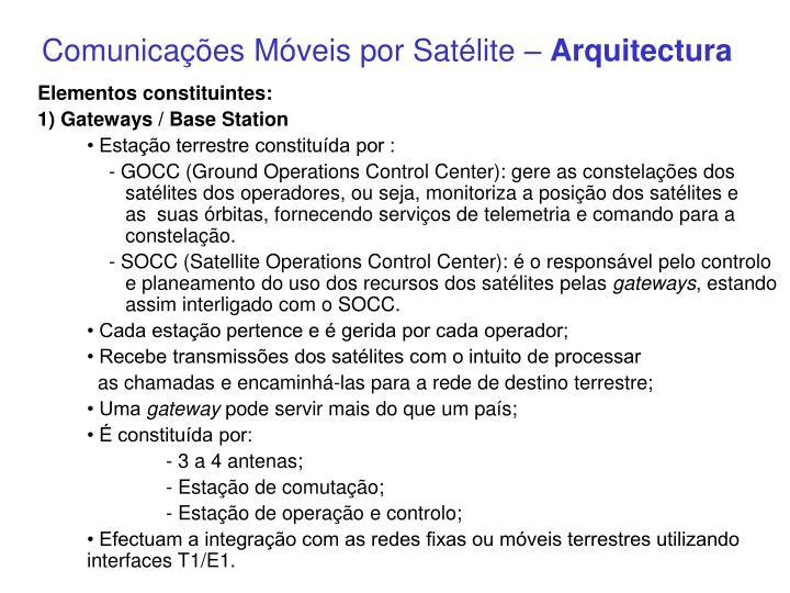 Comunicações Móveis por Satélite –