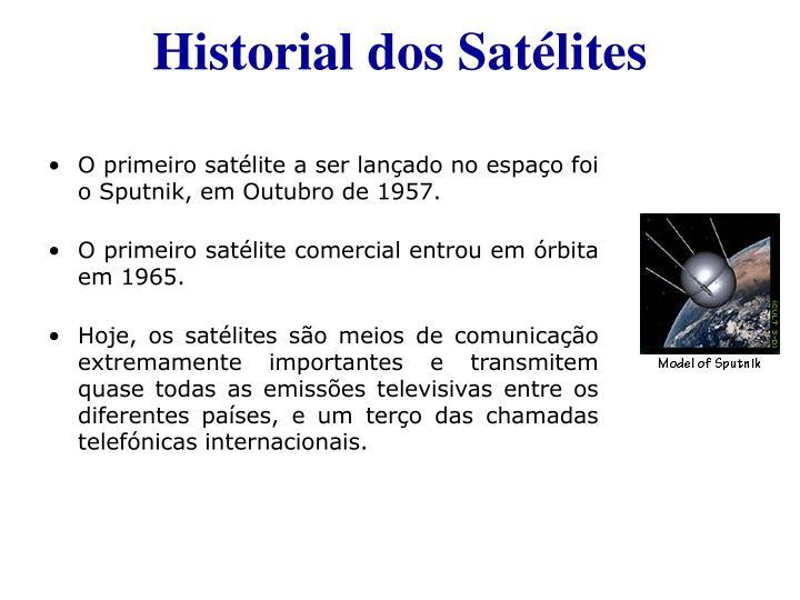 Historial dos Satélites