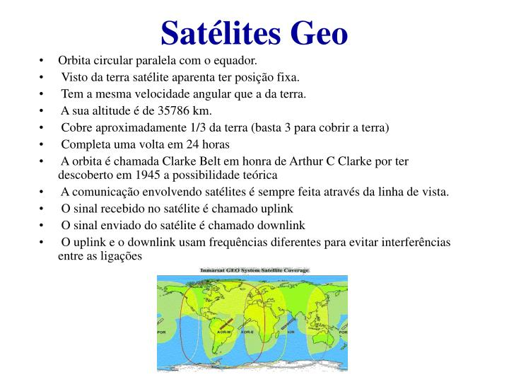 Satélites Geo