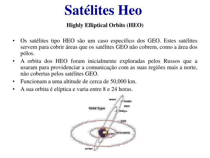 Satélites Heo