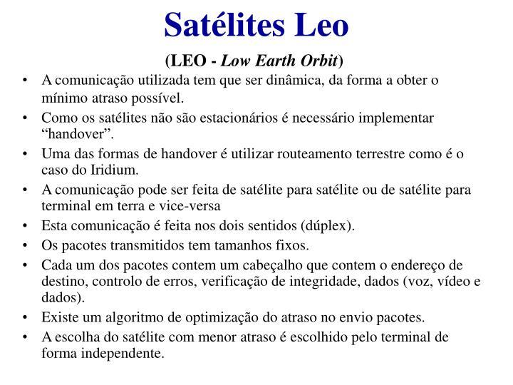 Satélites Leo