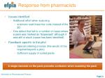 response from pharmacists1