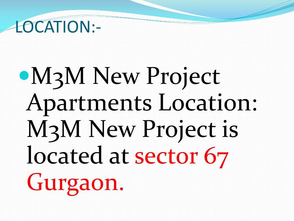 LOCATION:-