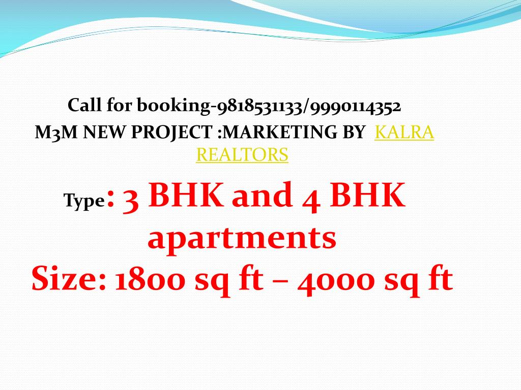 Call for booking-9818531133/9990114352