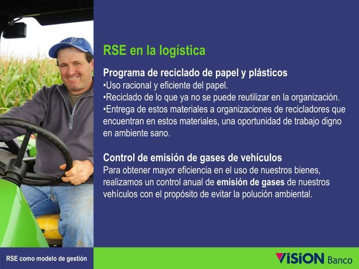 RSE en la logística