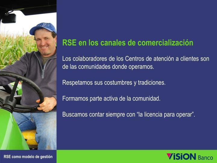 RSE en los canales de comercialización