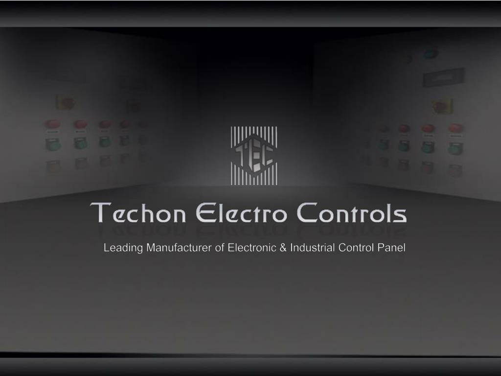 Leading Manufacturer of Electronic & Industrial Control Panel