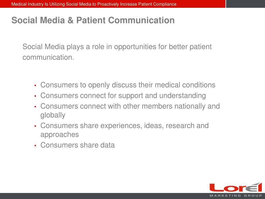 Social Media & Patient Communication