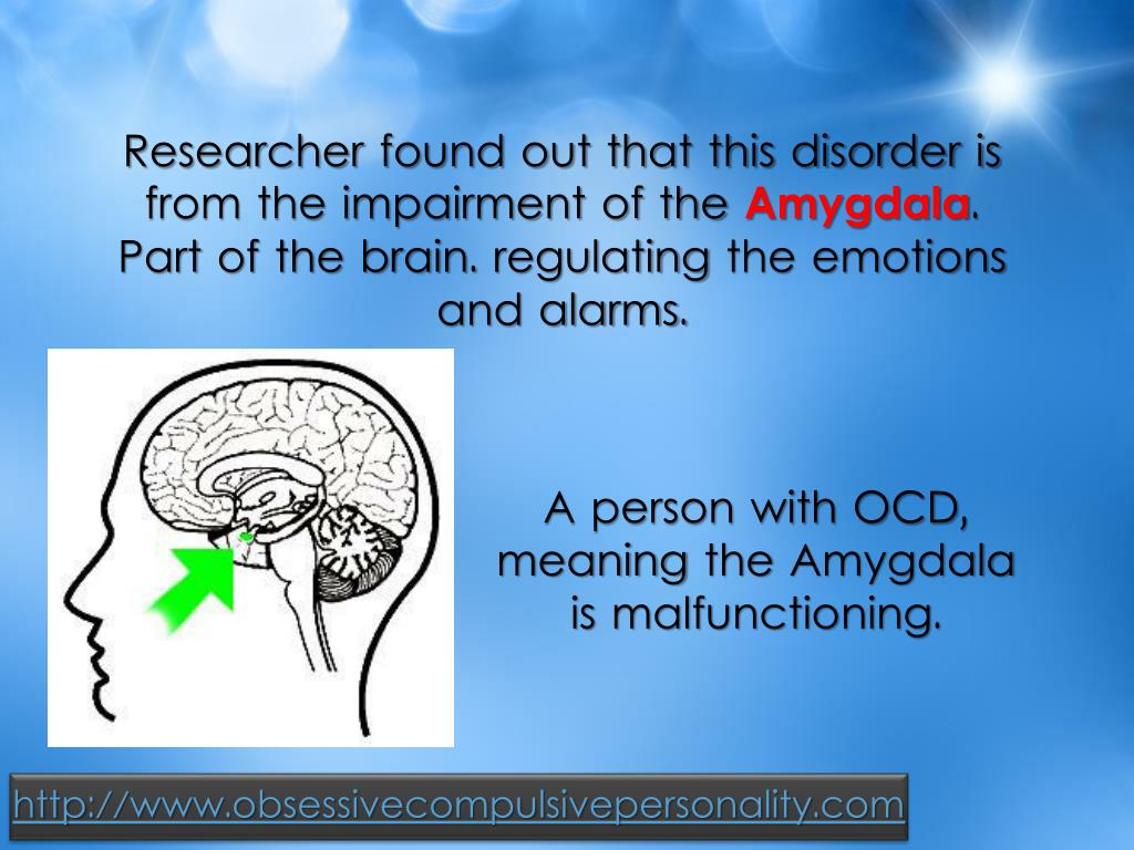 Researcher found out that this disorder is from the impairment of the