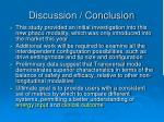 discussion conclusion