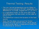 thermal testing results1