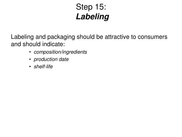 Step 15: