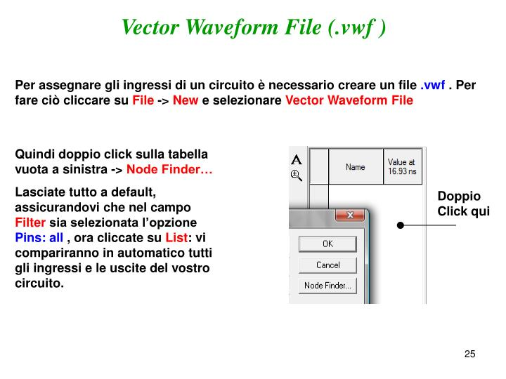Vector Waveform File (.vwf )