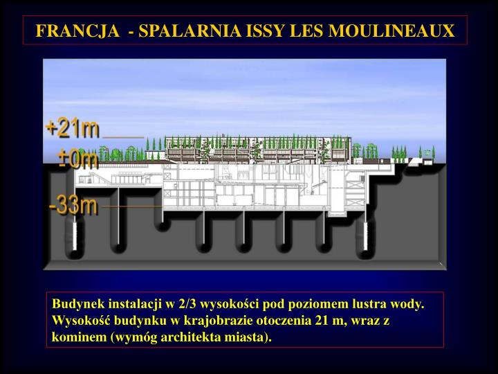 FRANCJA  - SPALARNIA ISSY LES MOULINEAUX