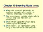 chapter 10 learning goals cont d