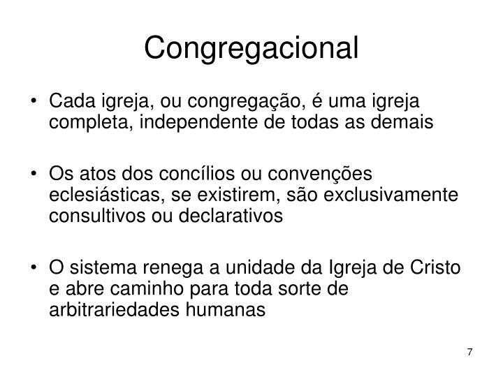 Congregacional