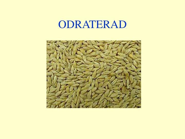 ODRATERAD