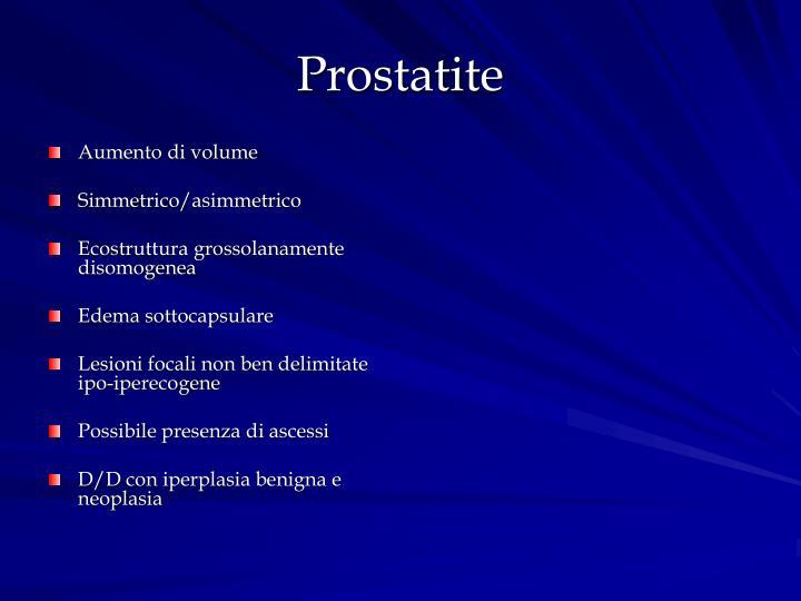 Prostatite