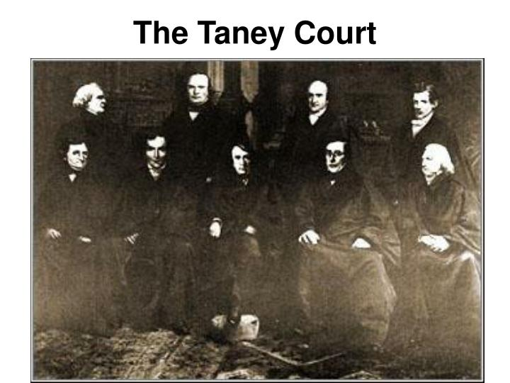 The Taney Court