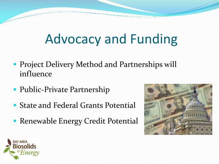 Advocacy and Funding