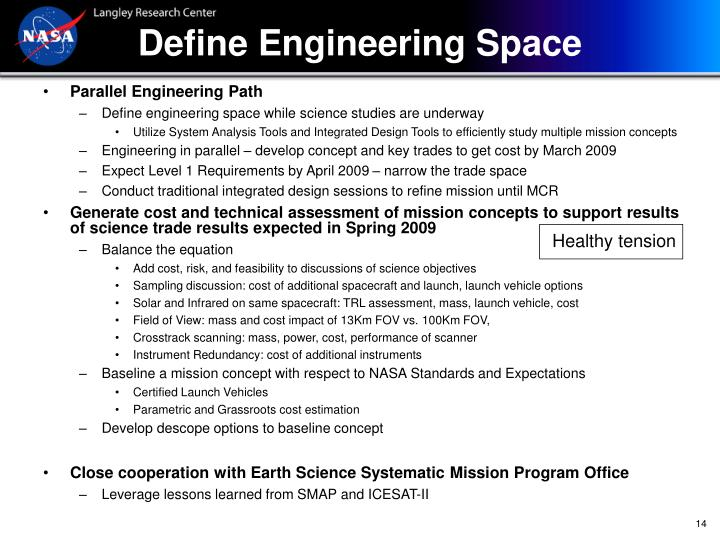 Define Engineering Space