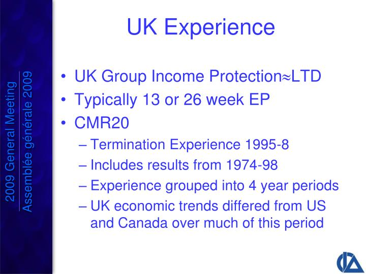 UK Experience