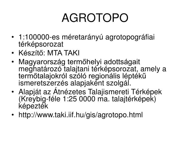 AGROTOPO