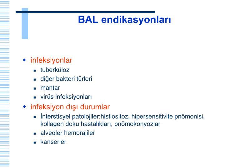 BAL endikasyonları