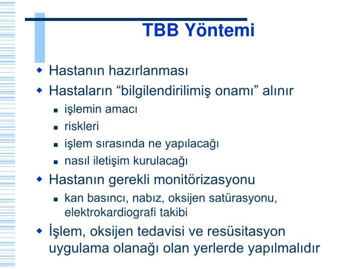 TBB Yöntemi