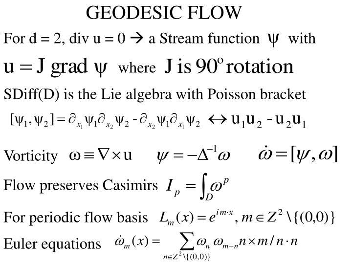 GEODESIC FLOW