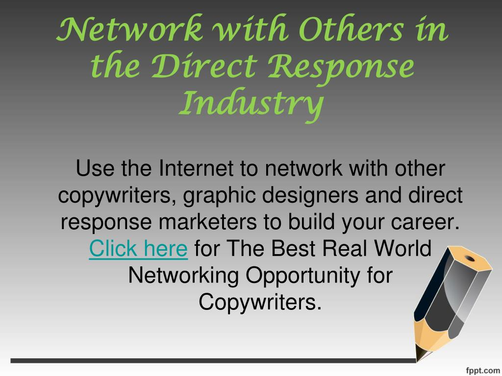Network with Others in the Direct Response Industry
