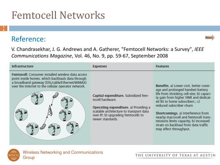 Femtocell Networks
