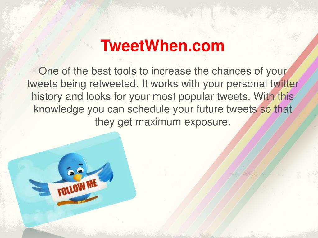 TweetWhen.com