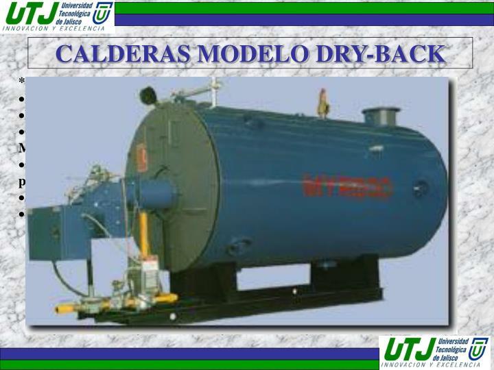 CALDERAS MODELO DRY-BACK