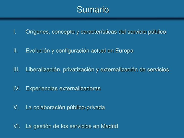 Sumario