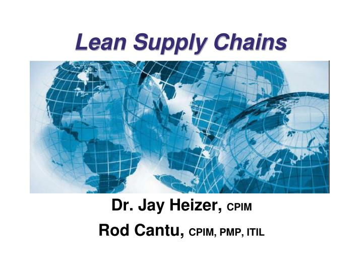 green supply chain thesis