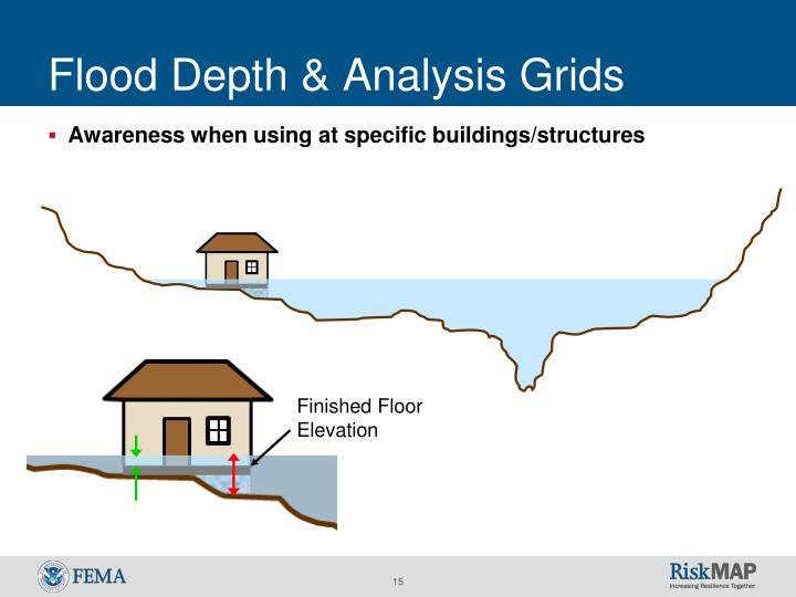 Flood Depth & Analysis Grids