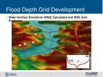 flood depth grid development2