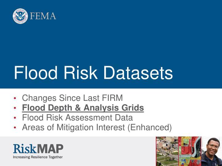 Flood Risk Datasets
