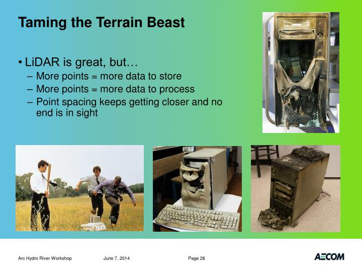 Taming the Terrain Beast