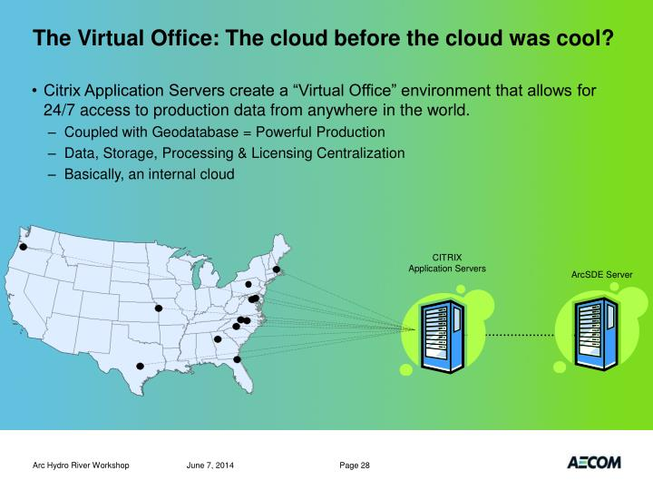 The Virtual Office: The cloud before the cloud was cool?