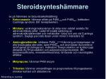 steroidsyntesh mmare