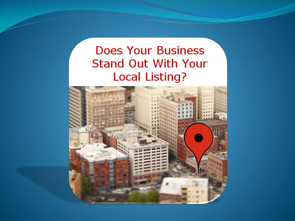 Local Marketing through Local Business Listings