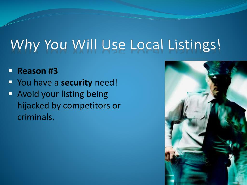 Why You Will Use Local Listings!