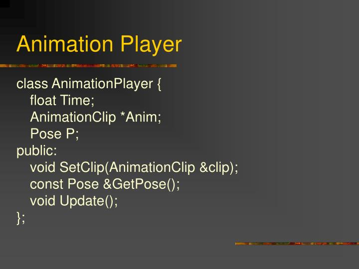 Animation Player