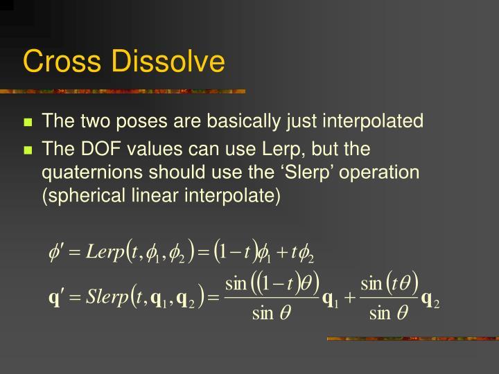 Cross Dissolve