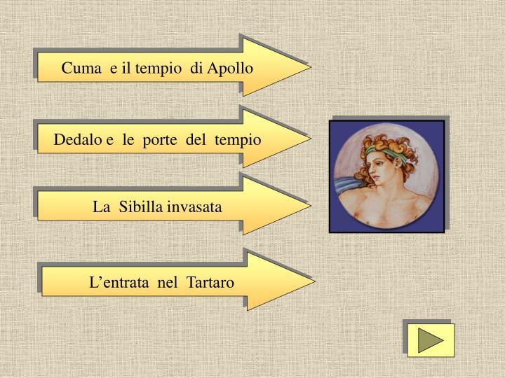 Cuma  e il tempio  di Apollo