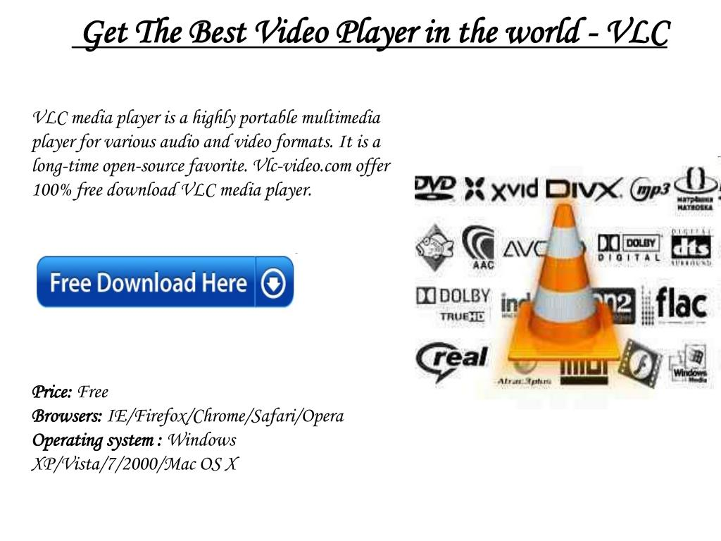 Get The Best Video Player in the world - VLC